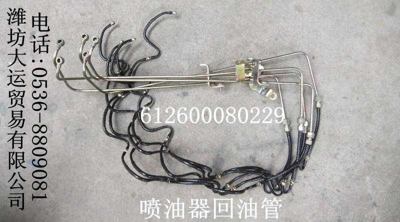 612600080299喷油器回油管/612600080299