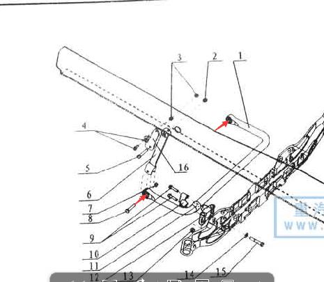 陕汽德龙F3000前稳定杆开口衬套81.96210.0450/81.96210.0450