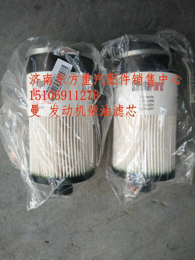 WG9925550105燃油粗滤器滤芯/WG9925550105