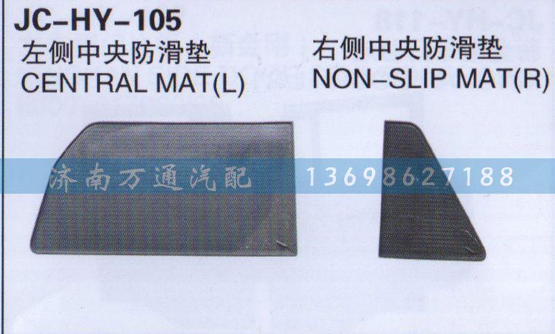 左侧/右侧中央防滑板/
