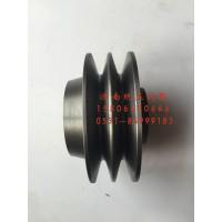 61400060161潍柴WD615欧二发动机两槽正心涨紧轮