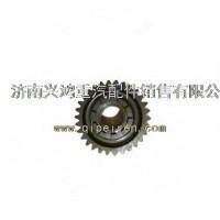 AZ9981320130重汽AC16桥主动圆柱齿轮总成