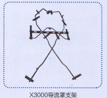 x3000导流罩支架/