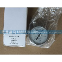 YTN-50 0-04MPa半钢耐震压力表