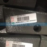AZ9100680165减震器下支架分装总成【重汽豪沃支架】