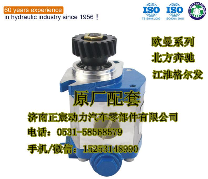原厂配件/陕汽德龙、奥龙/转向bobapp官网下载、助力泵/DZ9100130029
