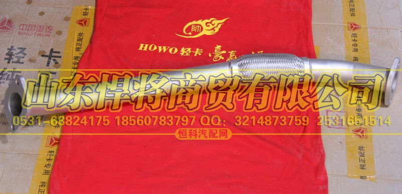 LG9704540295排气波纹管【HOWO豪沃轻卡】/LG9704540295