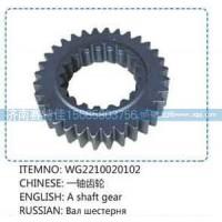 一轴齿轮WG2210020102