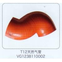 T12天然气管VG1238110002【重汽储气筒】/VG1238110002