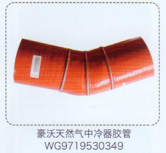 豪沃天然气中冷器胶管WG9719530349【重汽储气筒】/WG9719530349