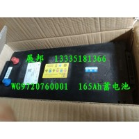 重汽豪沃 165Ah免维护蓄电池