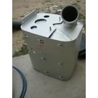 重汽天然气消声器总成WG9125540030