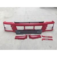 陕汽德龙F3000高位自卸车铁质保险杠