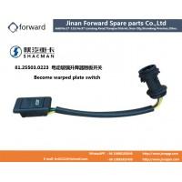 81.25503.0223电动玻璃升降器翘板开关Become warped plate switch