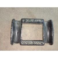 欧曼GTL前钢板盖板H4292180012A0
