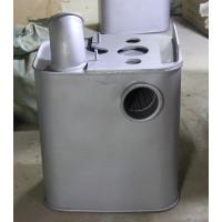 豪沃13款消声器