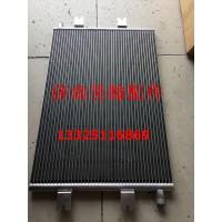重汽豪运豪瀚空调冷凝器 豪运新款散热器 空调压缩机 空调管
