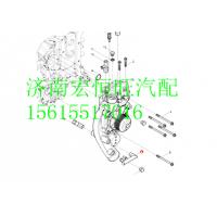 1000369406潍柴WP12发动机管接头