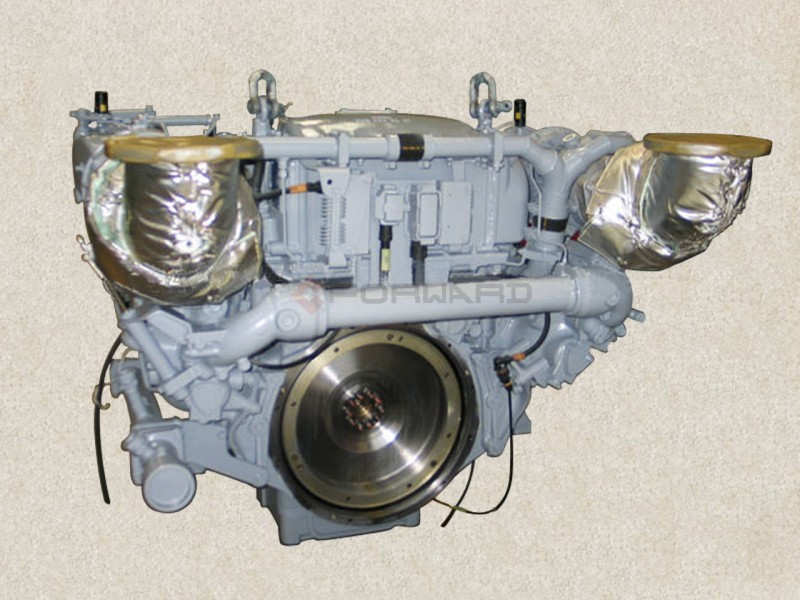 MTU-12V183TE9  发动机总成/MTU-12V183TE9
