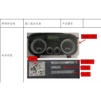 WG9525580012天然气组合仪表