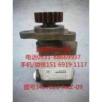 九平柴、锡柴转向油泵、助力泵3407020-AKZ-09