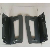 豪瀚N7G配件 WG1672230212右踏步骨架 厂家直供