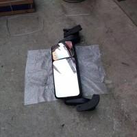 陕汽德龙X3000倒车镜后视镜总成