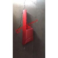 重汽豪沃轻卡配件18款右导风罩-红,重汽HOWO轻卡配件