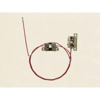 DZ14251110531 面罩锁锁座及拉杆总成
