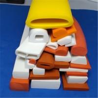 工业硅胶发泡条扁条方型耐高温海绵密封条