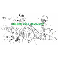 汉德469轻量化HDZ469半轴(右)