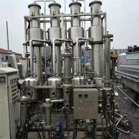 回收二手蒸发器 三效四体降膜蒸发效