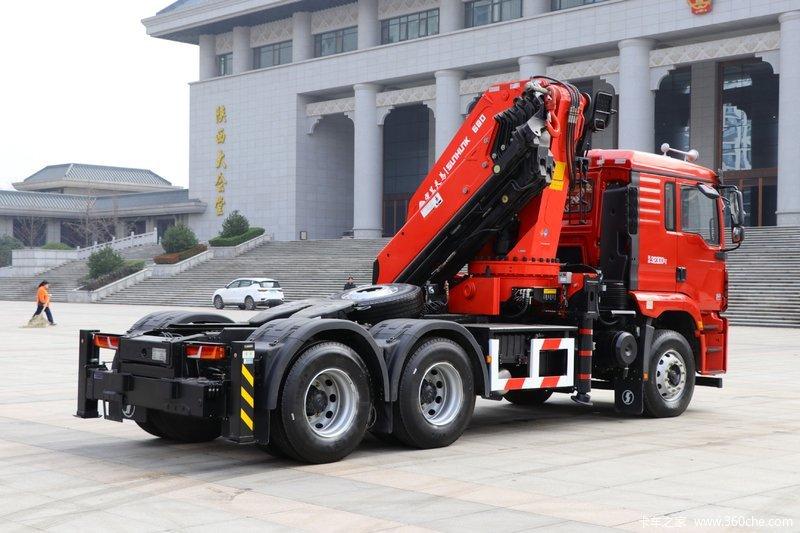 陕汽重卡 德龙M3000S 6X4 随车式起重牵引车(HCZ680)....