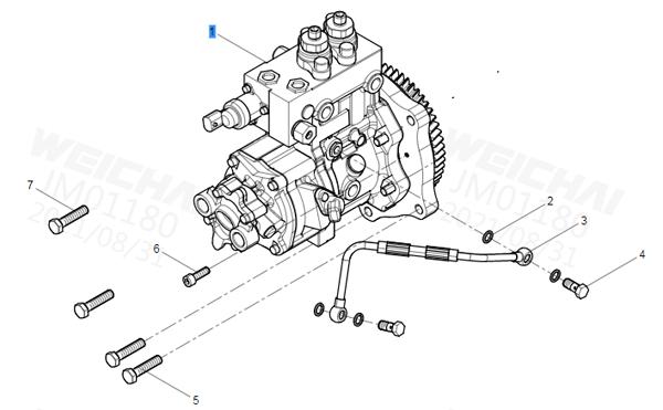 612640080039  喷油泵