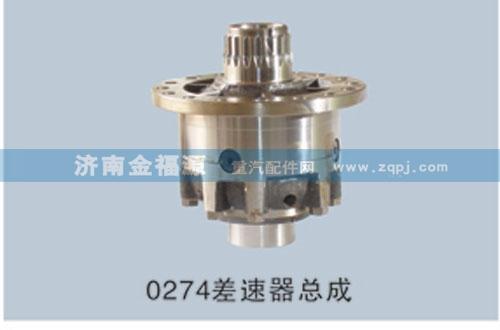 金福源提供0274差速器总成HW-CSQZC(0503)/HW-CSQZC(0503)