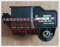 博世正品电控共轨柴油机压力温度传感器 0