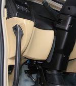 重汽新斯太尔D7B左膝盖护板组件