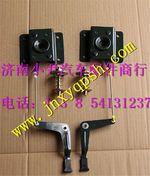 重汽豪沃面罩锁总成右WG1642110028