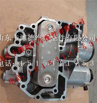 中国重汽曼MC11发动机机油模块总成