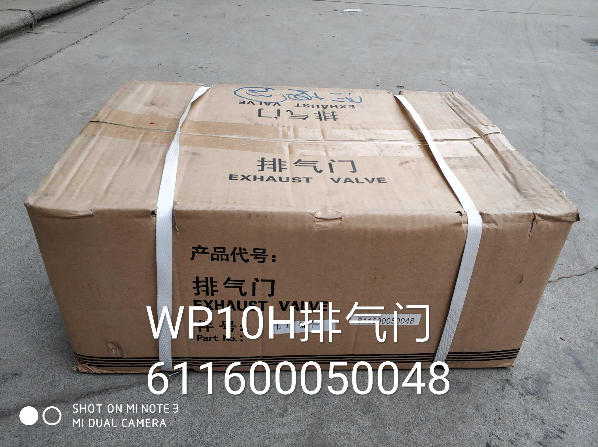 WP10H排气门611600050048
