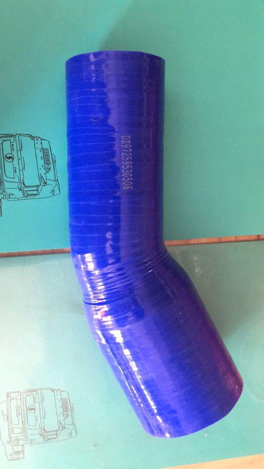 德龙X3000中冷器胶管DZ97259530506