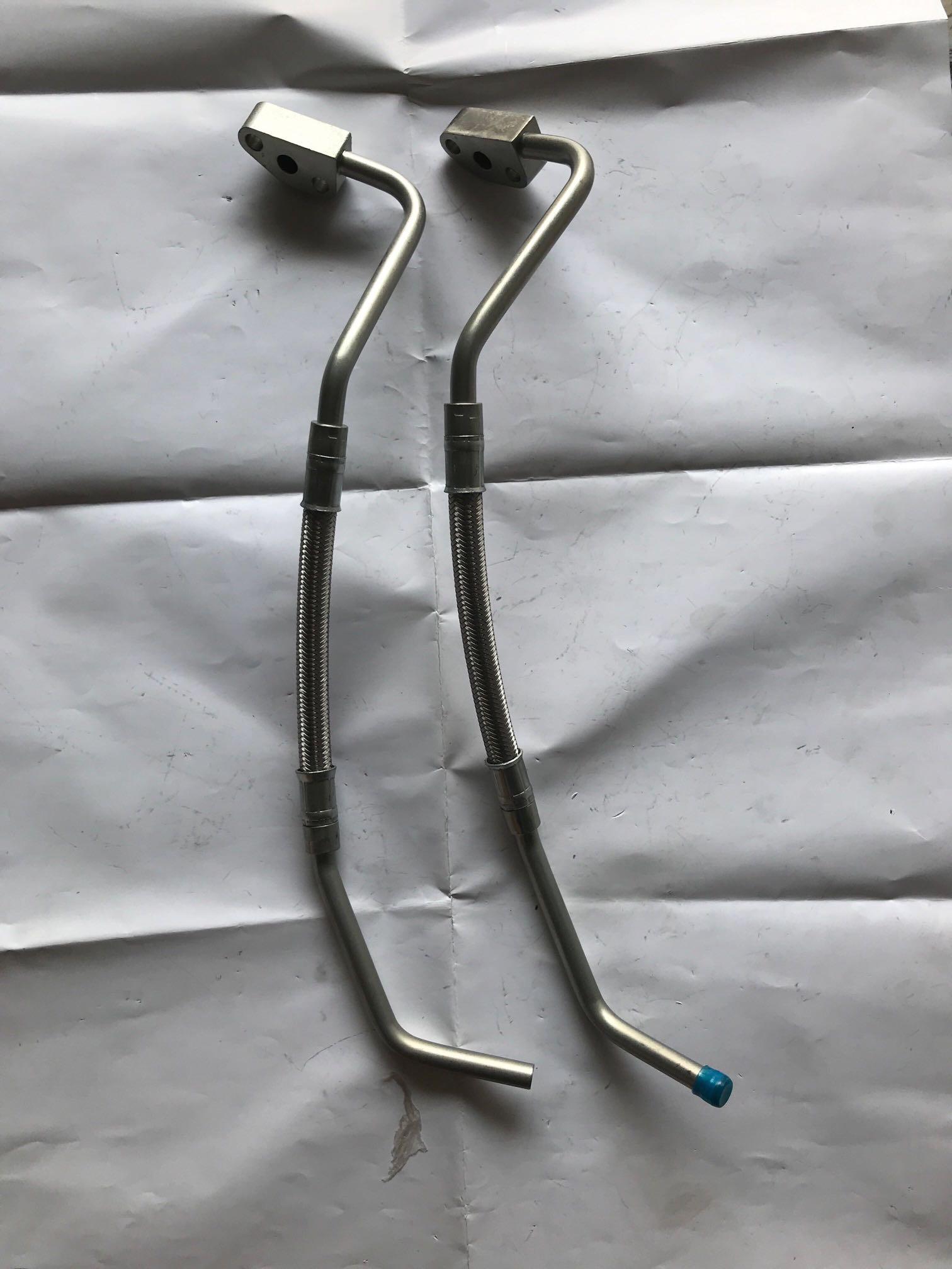 潍柴动力增压器进油管组件1002026280