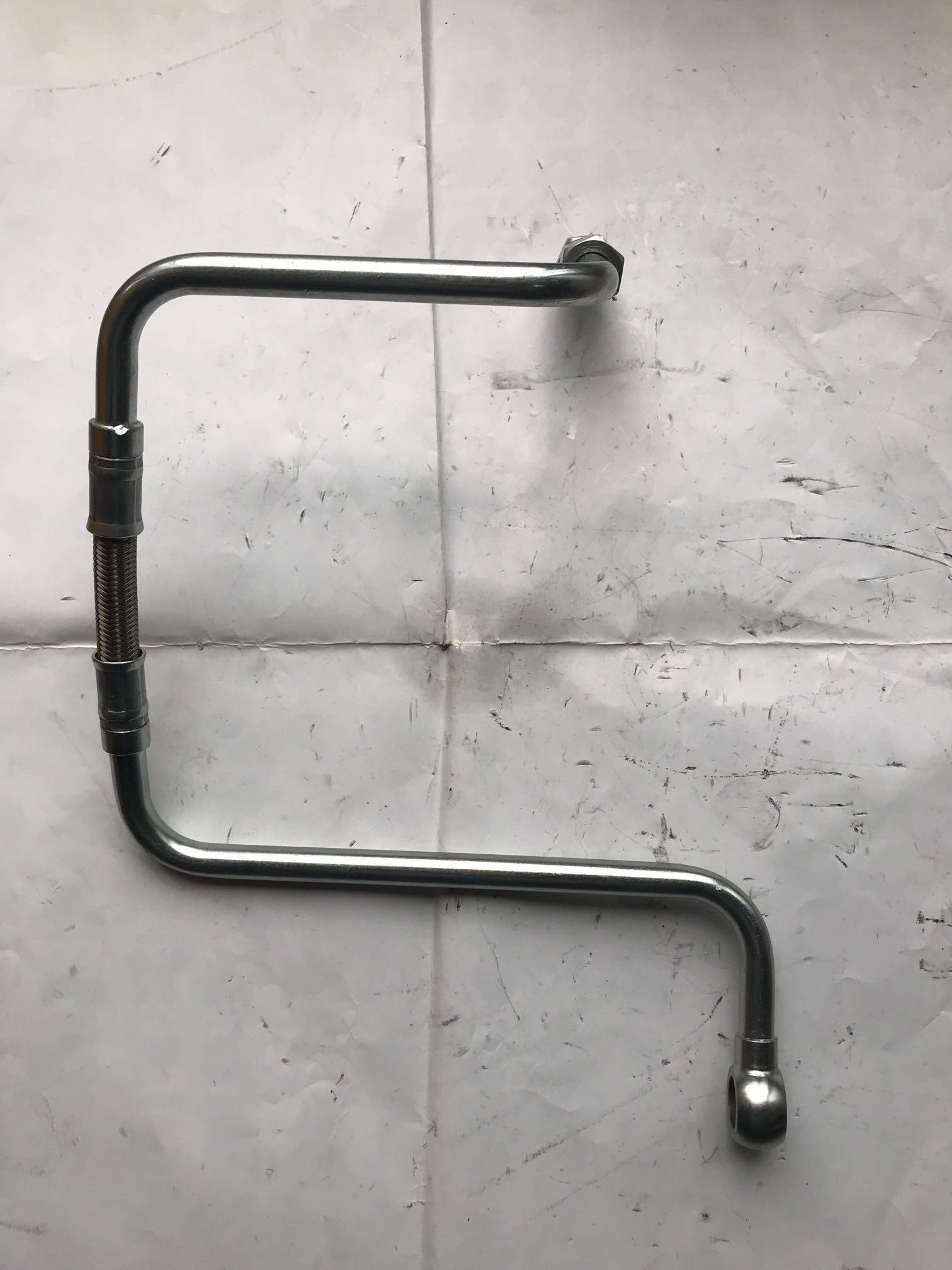 潍柴动力WP6发动机空压机水管总成13038734