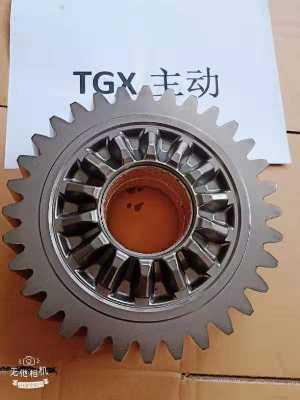 陕汽汉德TGX中桥轴间差速器主从动圆柱齿轮DZ9014932000/DZ90149320001【专业生产配套厂家】