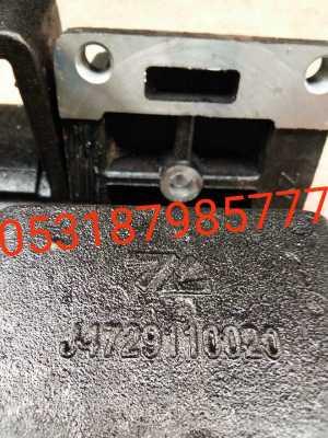 原厂陕汽同力矿用车桥钢板座 特价