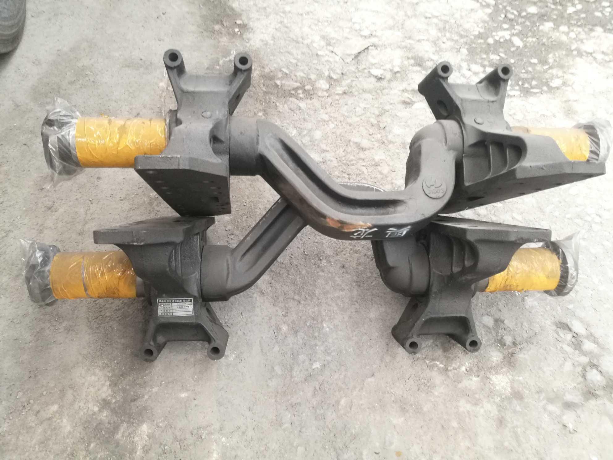 德龙原厂平衡轴带支架 特价