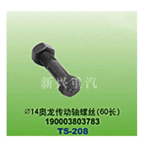 直径14奥龙传动轴螺丝(60长)